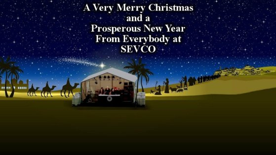 Merry Xmas HNY from Sevco