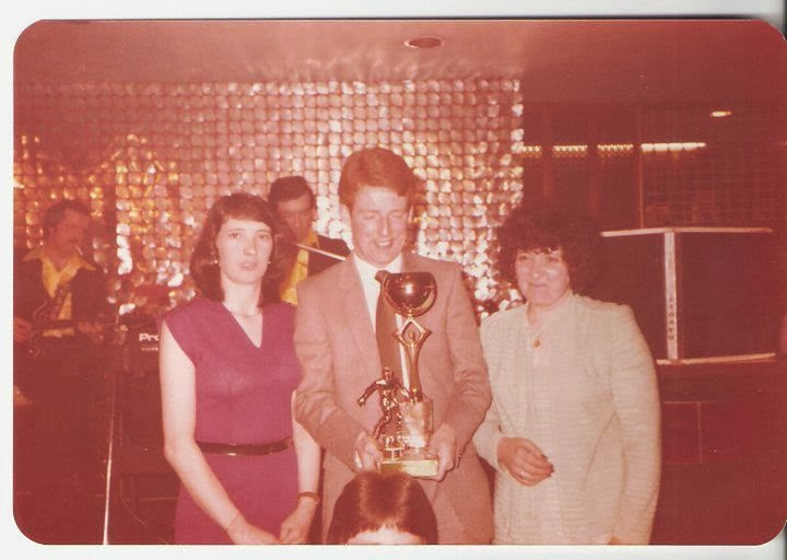 Tommy Burns POTY dance, band in the background