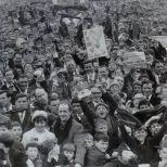 1967 SC Final Celtic and Aberdeen fans