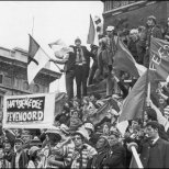 1970 Feyenoord and Celtic fans