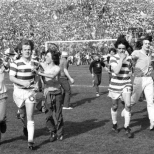 1980 cup final fans on pitch