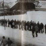 1980 Queue for Real Madrid tickets
