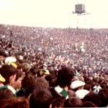 1985 cup final Greenock Shamrock Celtic end