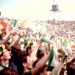 1985 cup final Greenock shamrock Walk on