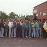 1988 or 89 queue into Celtic End