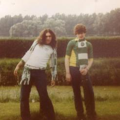 2 Celtic Fans Rotterdam 1981