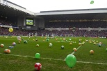 Beachball Sunday view from pitch Broomloan