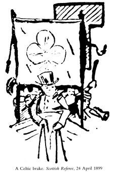 BRAKE CLUB DRAWING 1899, Shamrock banner