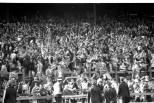 Celtic End early 1980s celebrating a goal