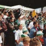 Celtic fans at Firhill 1990ish