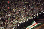 Celtic fans at Hamburg 1996