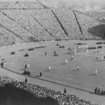 Celtic fans at Hampden, early days