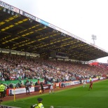 Celtic fans at Pittodrie circa 2010