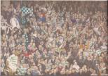 Celtic fans at Tony Adams testimonial