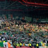 Celtic fans away in Europe circa 2012