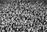 Celtic fans crowd 1970s