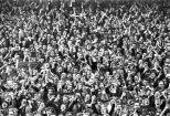 Celtic fans crowd 1970s