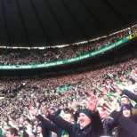 Celtic fans do the Broony