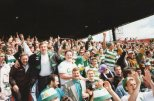 Celtic fans Firhil 1989 or 1990