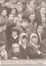 Celtic support Jan 1966 v Rangers won 5-1