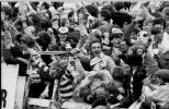 Celtic Supporters celebrate 1980s