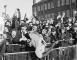 Fans at Tynecastle