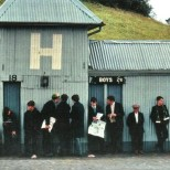 Fans locked out Hampden 1970s