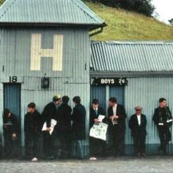 Fans locked out Hampden 1970s