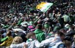 Huddle at Celtic Park great photo