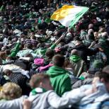 Huddle at Celtic Park great photo