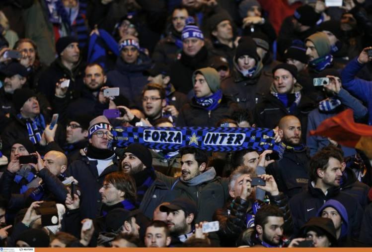 Inter fans enjoy YNWA