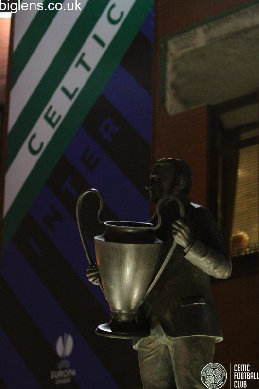 Jock Statue and cover