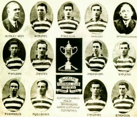 Celtic 1925 SC winners  photos