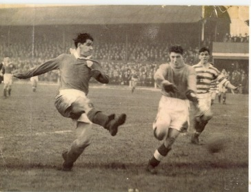 Celtic at Cathkin Park 1954