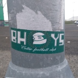Bhoys SMV sticker