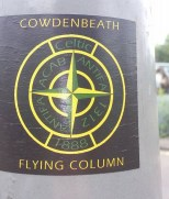 Cowdenbeath Flying Column sticker