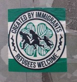 Created by Immigrants 2 sticker