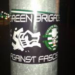 GB against fascism sticker