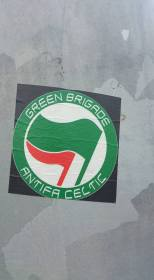 GB Antifa Celtic sticker