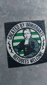 GB Created by Immigrants sticker