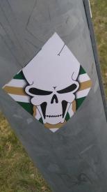 GB skull square