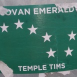 Govan Emerald Temple Tims sticker