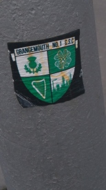 Grangemouth No.1 CSC sticker
