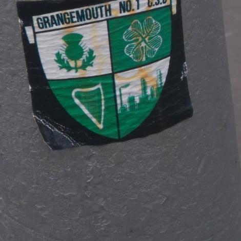 Grangemouth No.1 CSC sticker