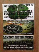 London Celtic Punks 3 stickers