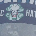 Love Celtic Hate Racism GB 2 sticker