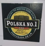 Polska No. 1 Magners sticker