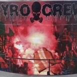 Pyro Crew sticker