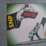 Sectarian SNP stamp