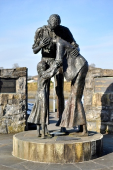 Sligo Harbour Famine memorial